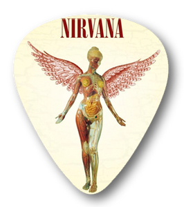 Nirvana - In Utero Standard Guitar Pick