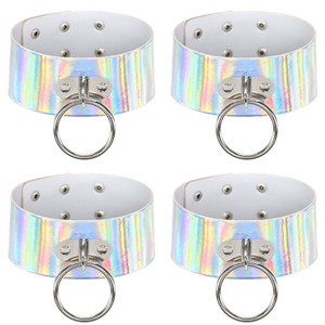 Thick Holographic Choker With O Ring