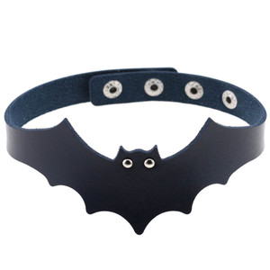 Thick Bat Choker in Black