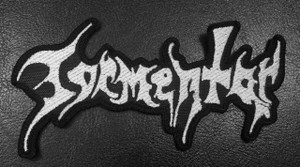 "Tormentor White Logo 4.5"" Embroidered Patch"