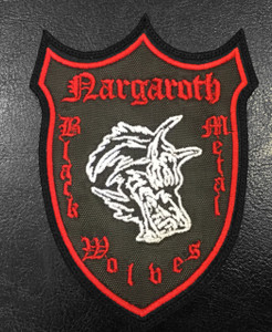 """Nargaroth Coat of Arms 4""""x3"""" Embroidered Patch"""
