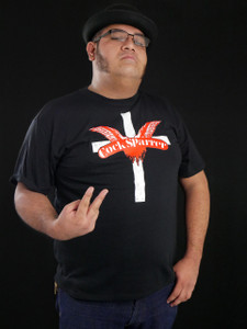 Cock Sparrer Cross Black T-Shirt