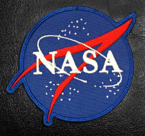 """Nasa Logo 3"""" Embroidered Patch"""