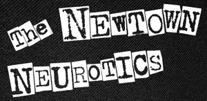 "The Newtown Neurotics Logo 4.75x2.25"" Printed Patch"
