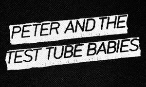 "Peter and the Test Tube Babies Logo 5x3"" Printed Patch"