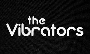 "The Vibrators Logo 5.5x3"" Printed Patch"