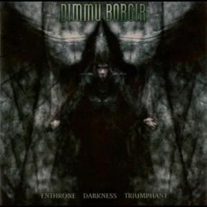 "Dimmu Borgir - Enthrone Darkness Triumphant 4x4"" Color Patch"