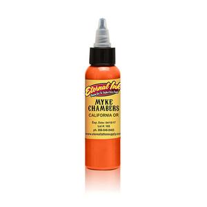 Eternal ink .5oz Tattoo Ink Bottle - Mike Chambers California Orange