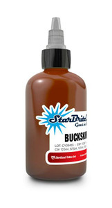 Starbrite Tattoo Ink Bottle .5oz Buckskin Tan