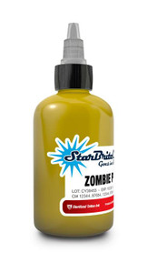 Starbrite Tattoo Ink Bottle .5oz - Zombie Puke