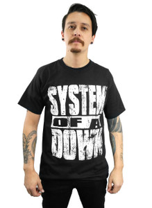 System of a Down Self Titled Album T-Shirt