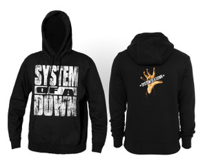 System of a Down Self Titled Album Hooded Sweatshirt