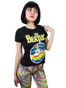 The Beatles Yellow Submarine Girls T-Shirt