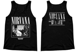 Nirvana Bleach Unisex Tank T-Shirt