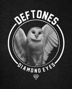 "Deftones Diamond Eyes Backpatch 12x16"""