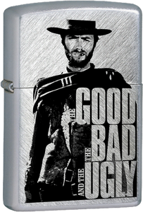 The Good The Bad and The Ugly Chrome Lighter