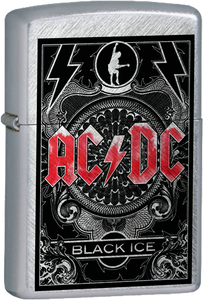 AC/DC - Black Ice Chrome Lighter