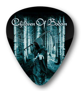 Children of Bodom by Christopher Lovell Standard Guitar Pick