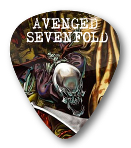 Avenged Sevenfold - City of Evil Standard Guitar Pick