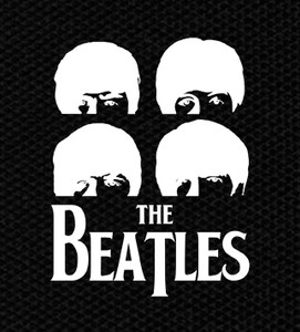 "The Beatles Faces 4x5"" Printed Patch"