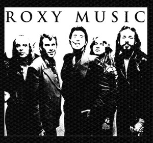 "Roxy Music Band Picture 5x4"" Printed Patch"