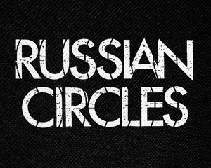 "Russian Circles 6x3"" Printed Patch"