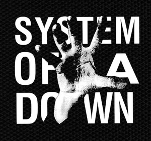 "System of a Down Self Titled Album 4x4"" Printed Patch"
