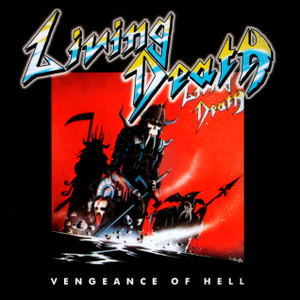 "Living Death - Vengeance of Hell 4x4"" Color Patch"