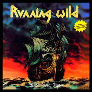 "Running Wild - Under Jolly Roger 4x4"" Color Patch"