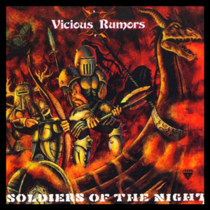 "Vicious Rumors - Soldiers of the Night 4x4"" Color Patch"