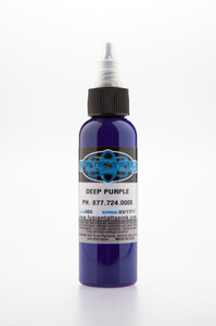 Fusion Ink - Deep Purple 1 Ounce Tattoo Ink Bottles