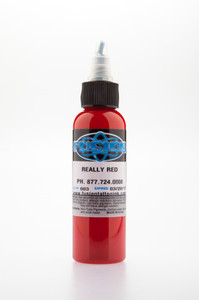 Fusion Ink - Really Red 1 Ounce Tattoo Ink Bottles