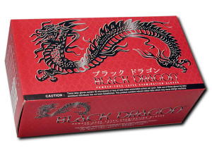 Microflex - Black Dragon Latex Gloves Box with  100 pieces