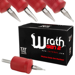 """TatSoul Wrath 1"""" Tattoo Disposable Tubes In Different Sizes 15 per Box"""