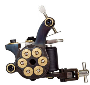 38 Special Revolver Tattoo Machine Cast Iron Liner