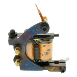 Solid Shader Custom Cast Iron Tattoo Machine