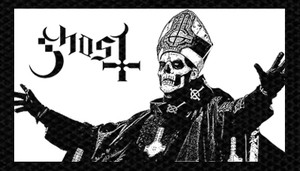 "Ghost Papa Emeritus 5x2.8"" Printed Patch"