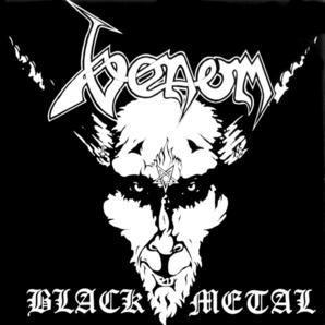 """Venom - Black Metal 4x4"""" Color Patch"""