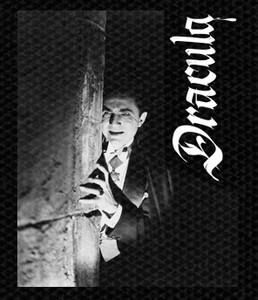 "Dracula Bela Lugosi 4.5x4.5"" Printed Patch"