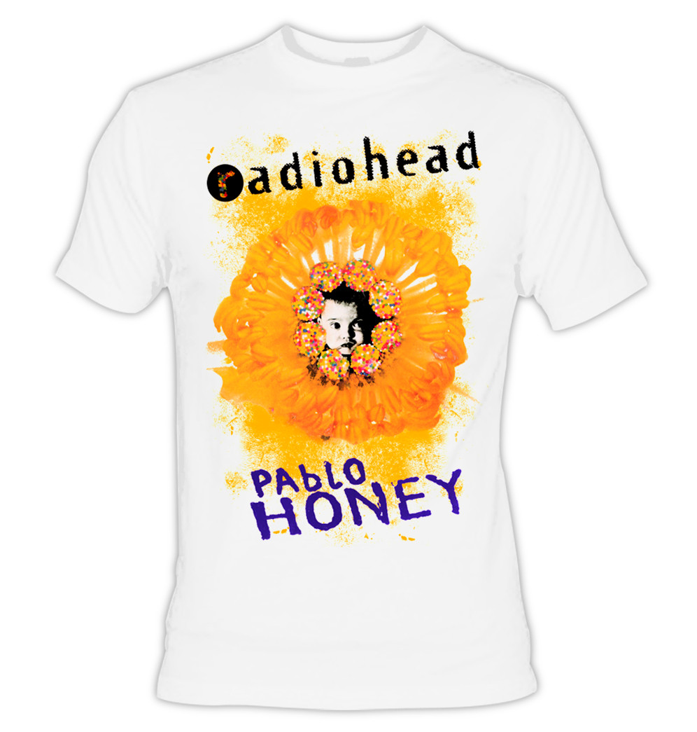 ee0f950bd Home · Music Apparel · Totally 90's; Radiohead Pablo Honey T-Shirt. Image  1. Click to enlarge
