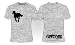 Deftones White Pony Grey T-Shirt