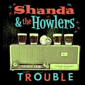 "Shanda & The Howlers - Trouble 4x4"" Color Patch"