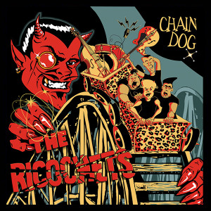 """The Ricochets - Chain Dog 4x4"""" Color Patch"""