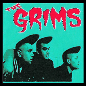 """The Grims Turquoise 4x4"""" Color Patch"""