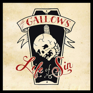 "The Gallows - Life of Sin 4x4"" Color Patch"