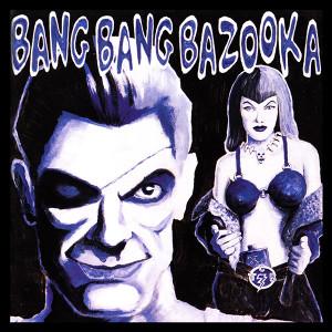 """Bang Bang Bazooka Illustration 4x4"""" Color Patch"""
