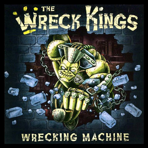 "The Wreck Kings - Wrecking Machine 4x4"" Color Patch"
