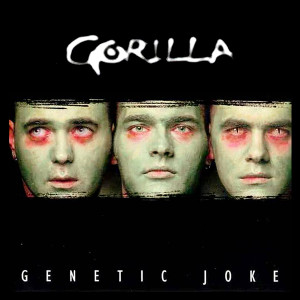 "Gorilla - Genetic Joke 4x4"" Color Patch"