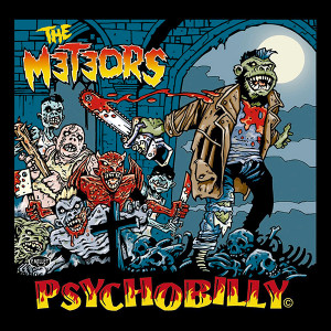 """The Meteors Psychobilly 4x4"""" Color Patch"""