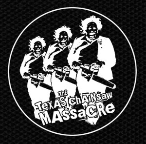 "The Texas Chainsaw Massacre Leatherface Chase 4x4"" Printed Patch"